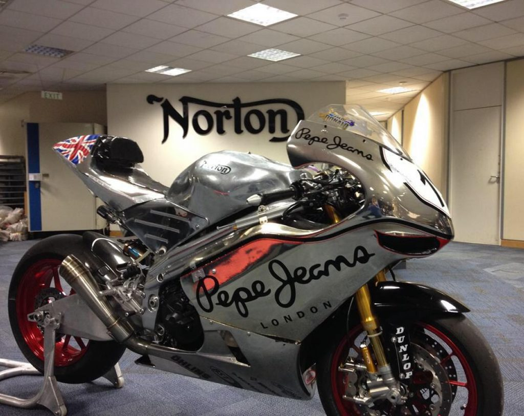 Norton TT superbike Isle Of Man
